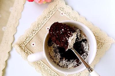 巧克力布朗尼#美的微波炉菜谱#