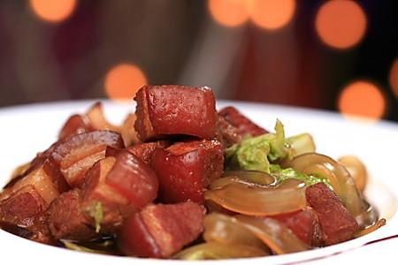 猪肉白菜炖粉条的做法