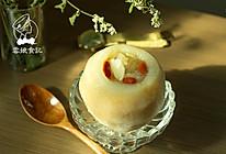 糯耳百合枸杞蒸梨的做法
