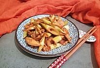 五花肉炒笋的做法