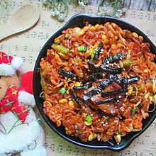 韩式五花肉炒饭