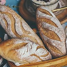 低脂低糖全麦软欧面包棒