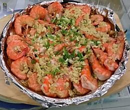 铁板大虾的做法