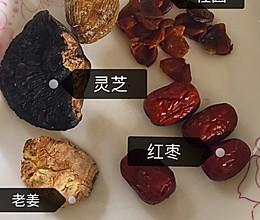 广东老火灵芝鸡汤(低嘌呤版~)的做法