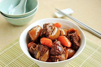 胡萝卜烧羊肉----冬季暖身