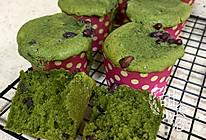 抹茶蜜豆蛋糕的做法