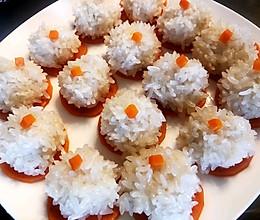 清蒸糯米丸子~蒸出来得健康美食的做法