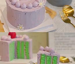 斑斓芋泥蛋糕