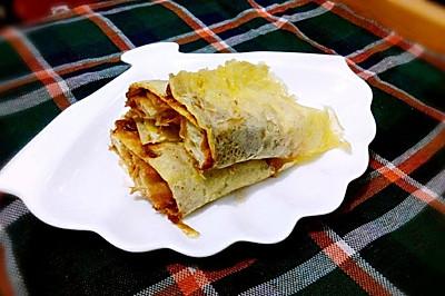 杂粮煎饼果子—乌江榨菜