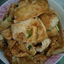 香煎嫩豆腐