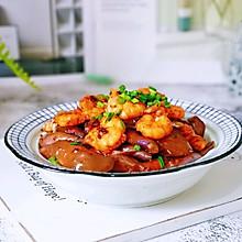 #肉食者联盟#虾仁辣酱烧茄子