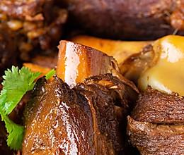 【酱大棒骨】东北人这样烧大肉,豪气!的做法