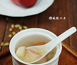雪莲子红梨糖水的做法