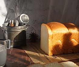 养乐多北海道吐司面包polish波兰种 宝宝喜欢的营养早餐的做法