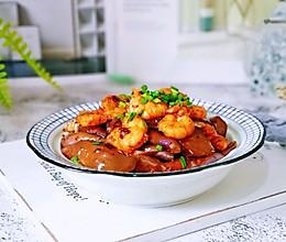 #肉食者联盟#虾仁辣酱烧茄子的做法