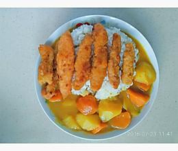 鸡柳咖喱的做法