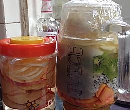 苹果醋加水果酵素的做法