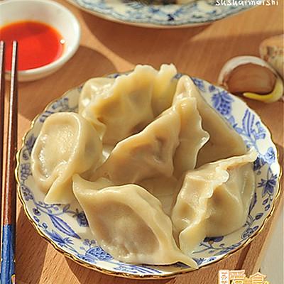 热腾腾的蕃茄牛肉水饺——做出鲜嫩带汤牛肉馅秘方大公开