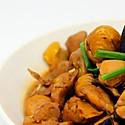 香菇栗子烧鸡[简单三部曲]