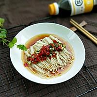 热拌金针菇#安佳幸福家常菜#的做法图解12