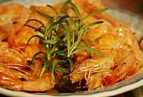 洋葱虾蒸粉丝的做法
