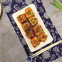 肉酿豆腐#春天肉菜这样吃#