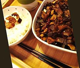 下饭丁丁--腊肉炒萝卜干豆干丁的做法