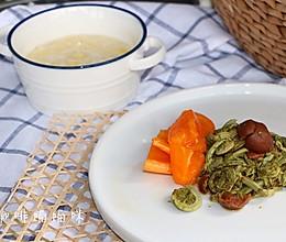 开胃菜-梅子凉拌藓菜的做法