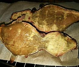烤箱版烤山芋的做法