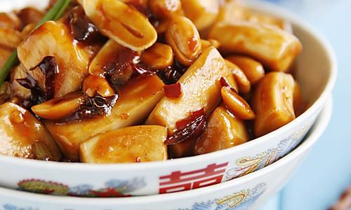 宫保杏鲍菇——豆果菁选酱油试用的做法