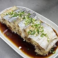 #精品菜谱挑战赛# 清蒸带鱼的做法图解9