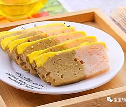双拼午餐肉  宝宝辅食食谱的做法
