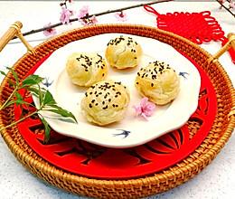 #元宵节美食大赏#一个有声音的汤圆~蛋挞皮烤汤圆的做法