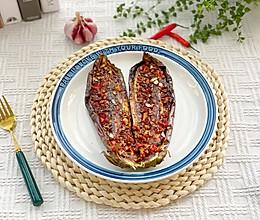 蒜香烤茄子的做法