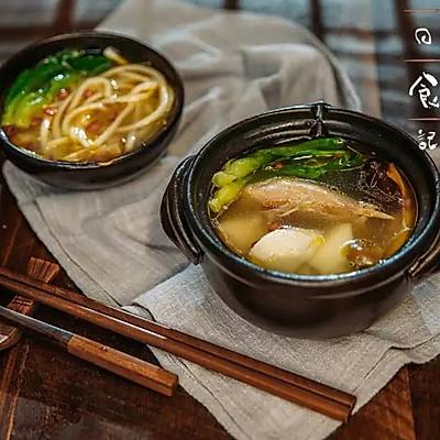 电饭煲炖鸡汤|日食记