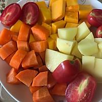 蔬菜浓汤的做法图解1