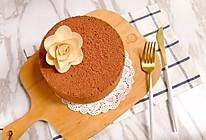 六寸可可戚风蛋糕的做法