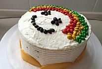 彩虹蛋糕(非色素版)的做法