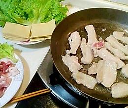 铁板五花肉(煎烤五花肉)的做法