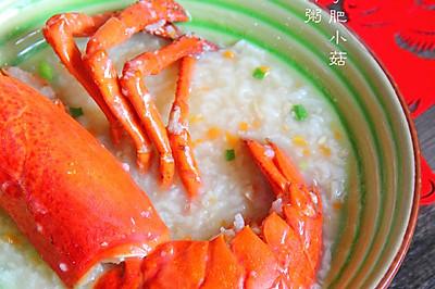 龙虾海鲜粥(压力锅版)
