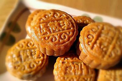 广式莲蓉蛋黄月饼(50克迷你蛋黄月饼)