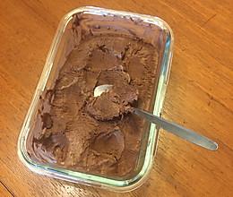 巧克力冰激淋的做法