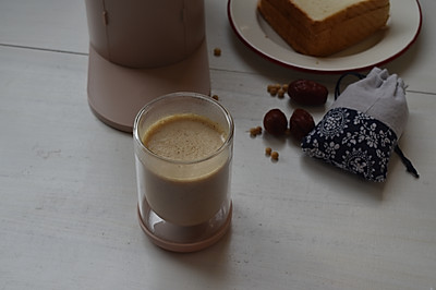 红枣大米豆浆