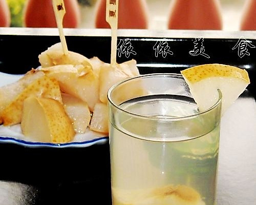 冰糖梨水的做法