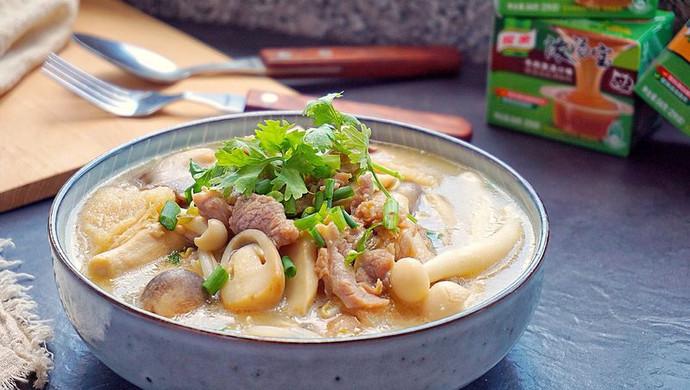 鲜菇杂菌浓汤