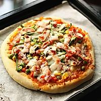 培根杂蔬披萨的做法图解13