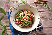 八代鱼炒蒜苔的做法