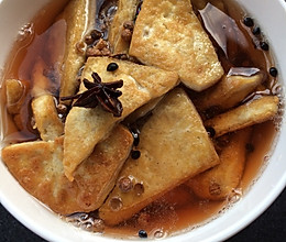 花椒水泡豆腐的做法
