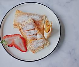 简单高颜值吐司苹果派的做法