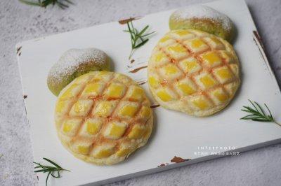 迷你小菠萝酥皮面包